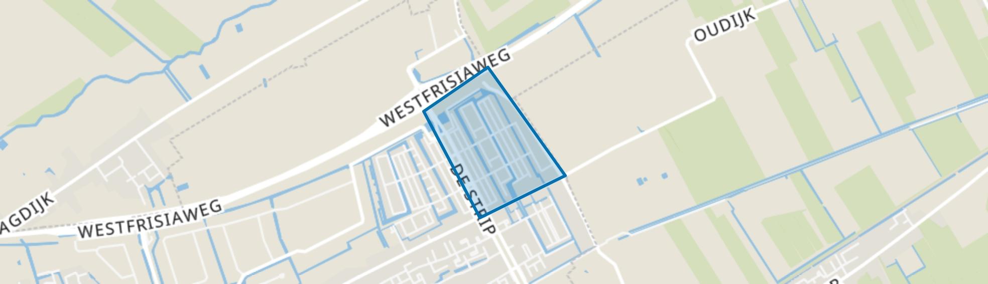 Bangert en Oosterpolder - Buurt 35 02, Zwaag map