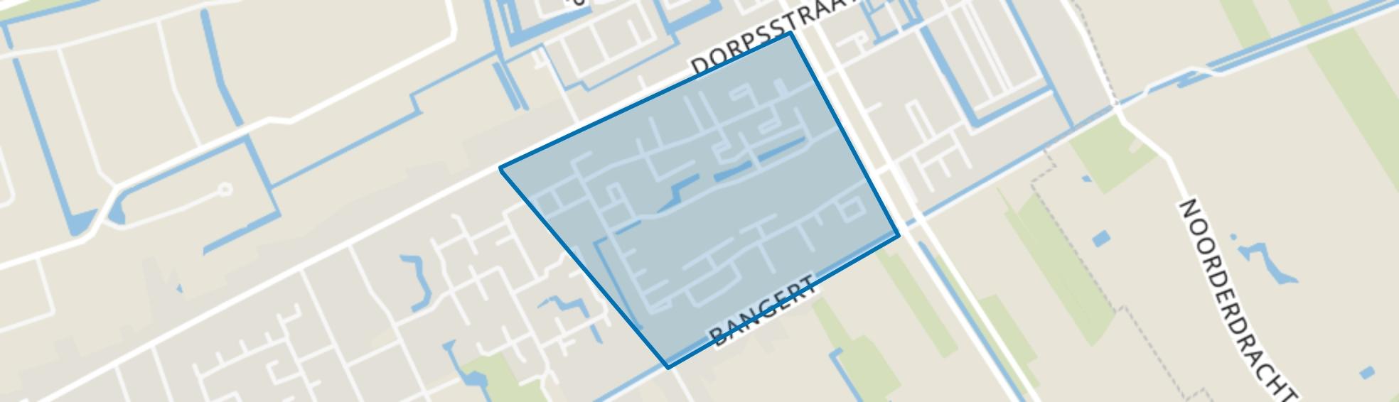 Bangert en Oosterpolder - Buurt 35 03, Zwaag map
