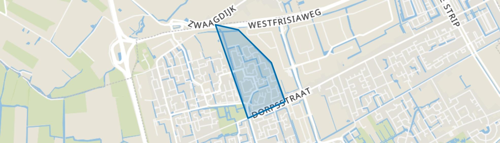 Risdam-Noord - Buurt 21 00, Zwaag map
