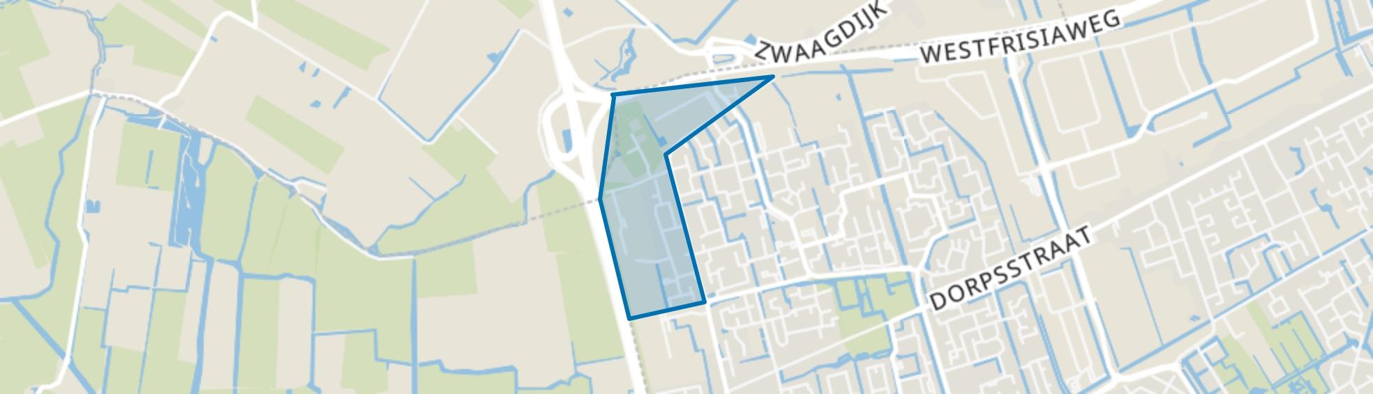 Risdam-Noord - Buurt 21 05, Zwaag map