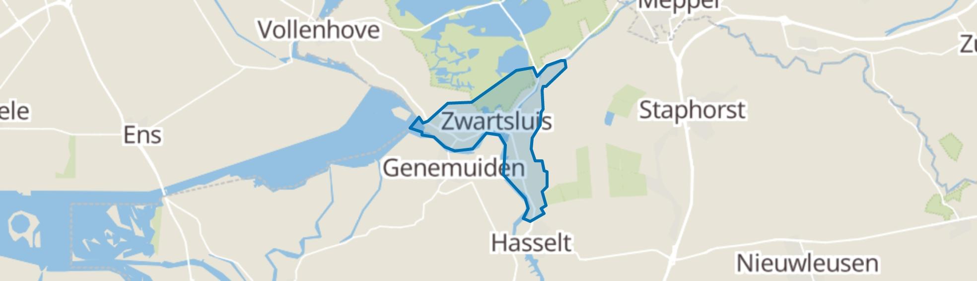 Zwartsluis map