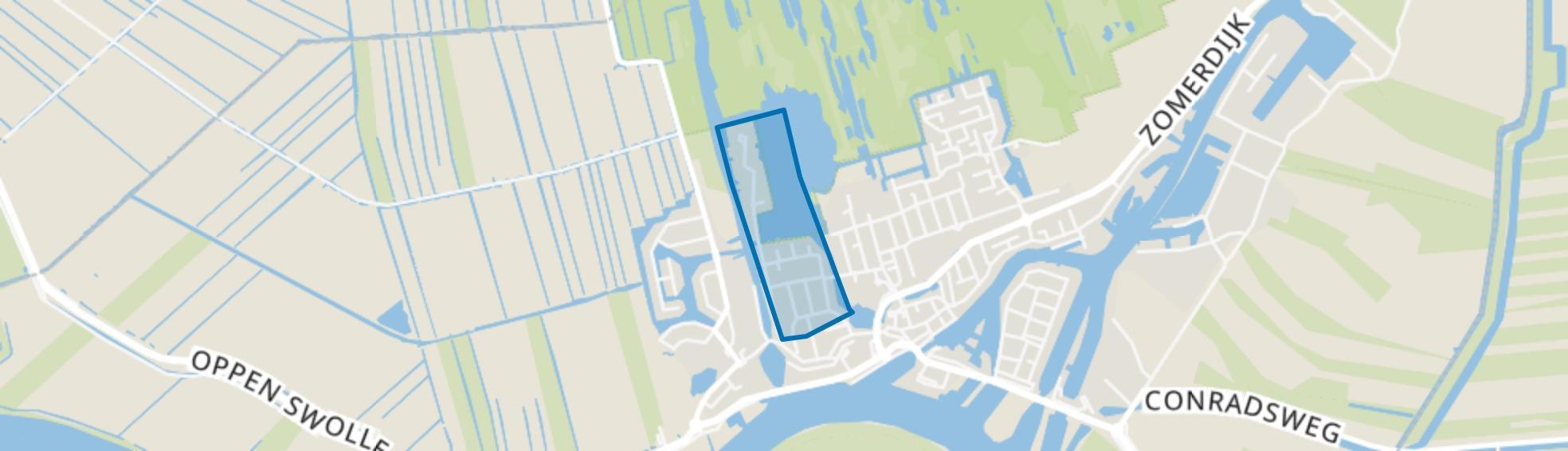 Prinsessenbuurt, Zwartsluis map
