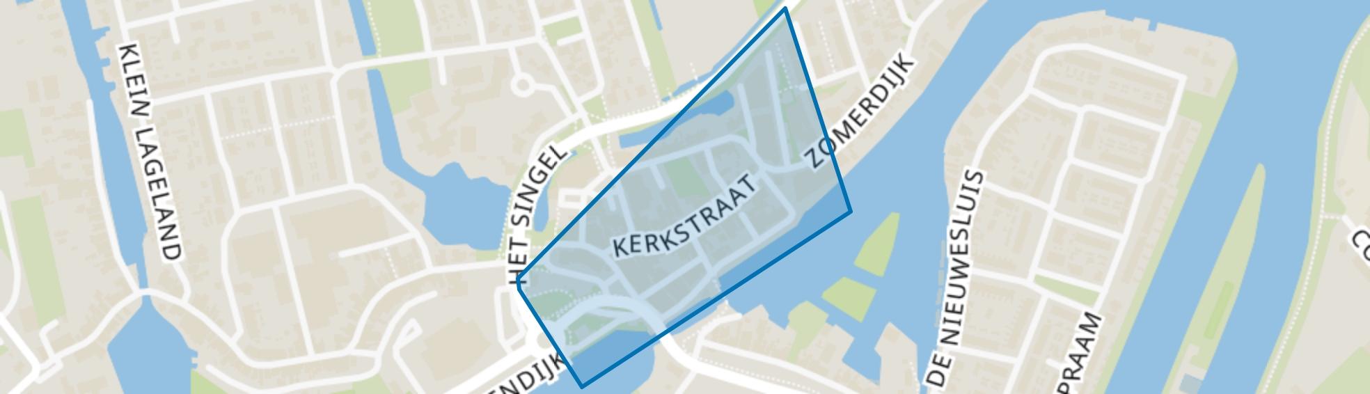 Zwartsluis Kern, Zwartsluis map