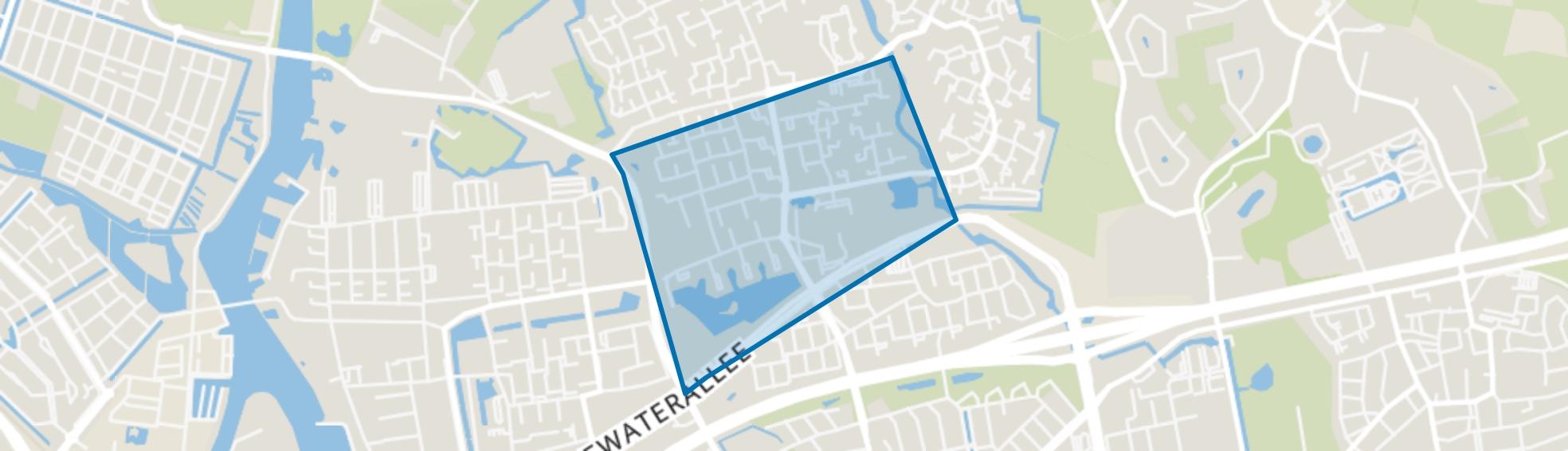 Aa-landen-Midden, Zwolle map