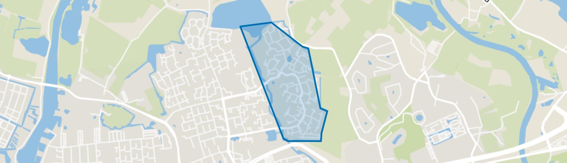 Aa-landen-Oost, Zwolle map
