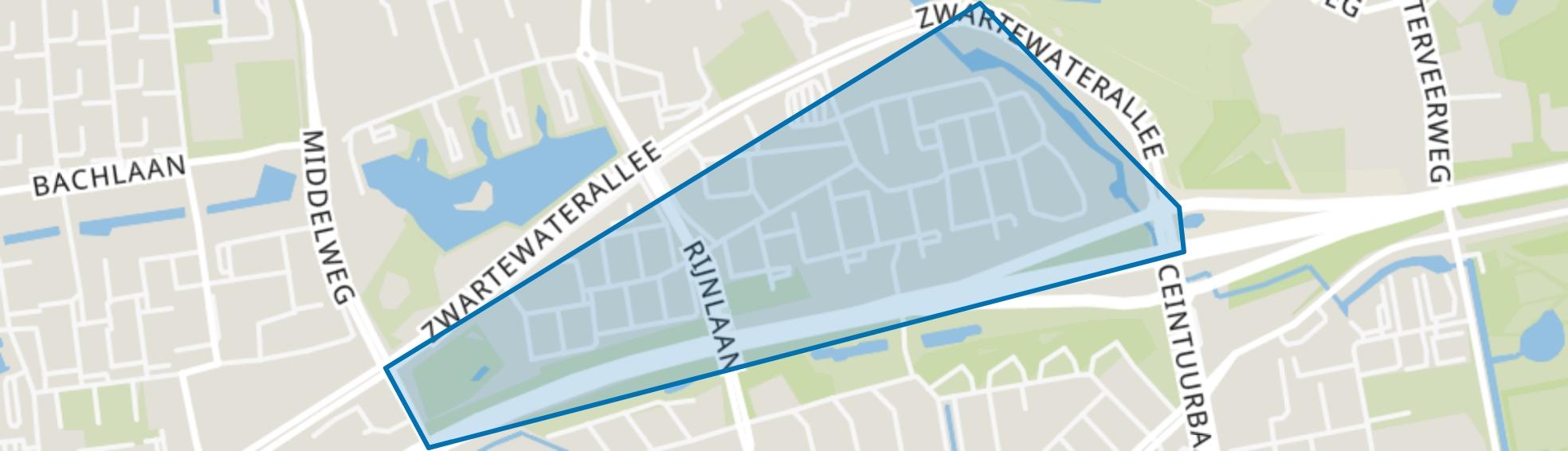 Aa-landen-Zuid, Zwolle map