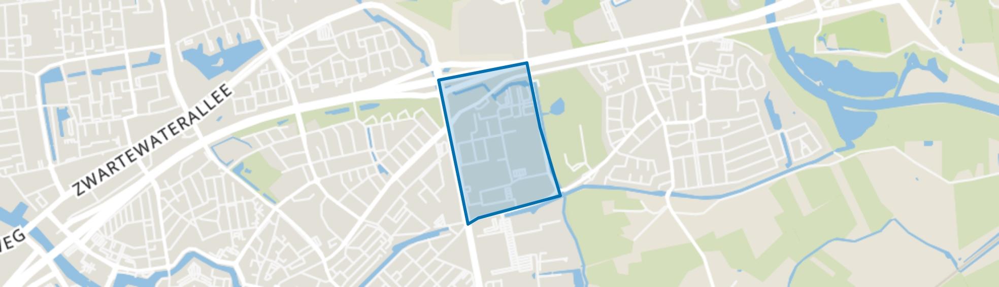 Bedrijventerrein de Vrolijkheid, Zwolle map