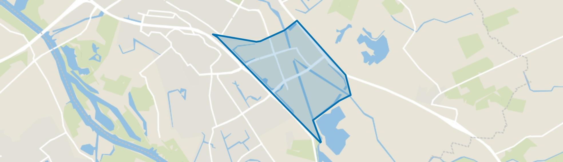 Bedrijventerrein Marslanden-Zuid, Zwolle map