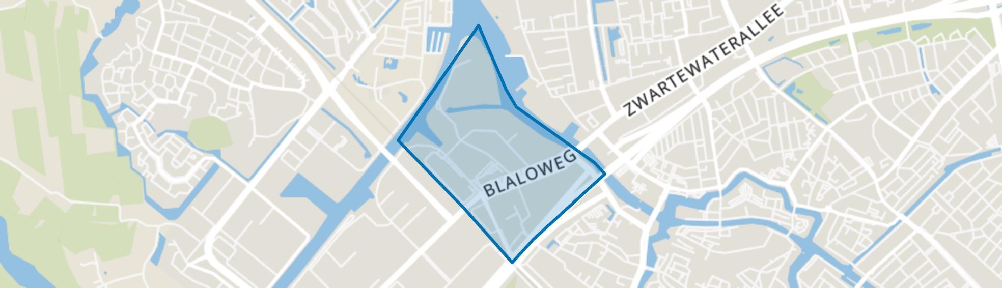 Bedrijventerrein Voorst-A, Zwolle map
