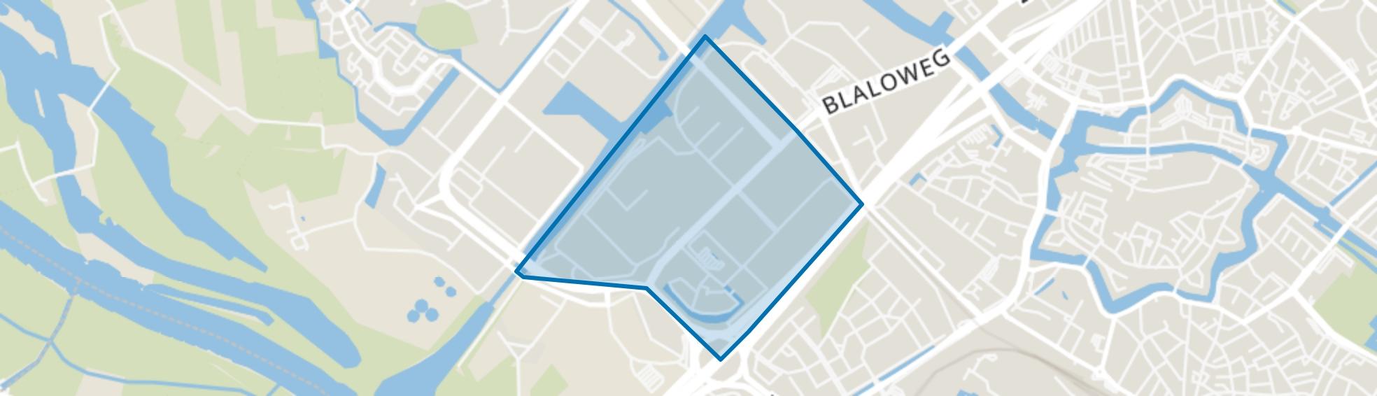 Bedrijventerrein Voorst-B, Zwolle map