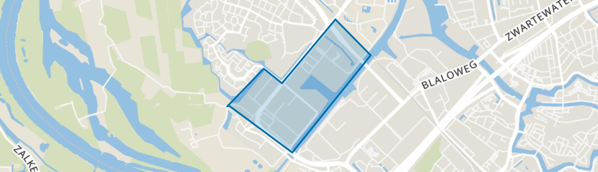 Bedrijventerrein Voorst-C, Zwolle map