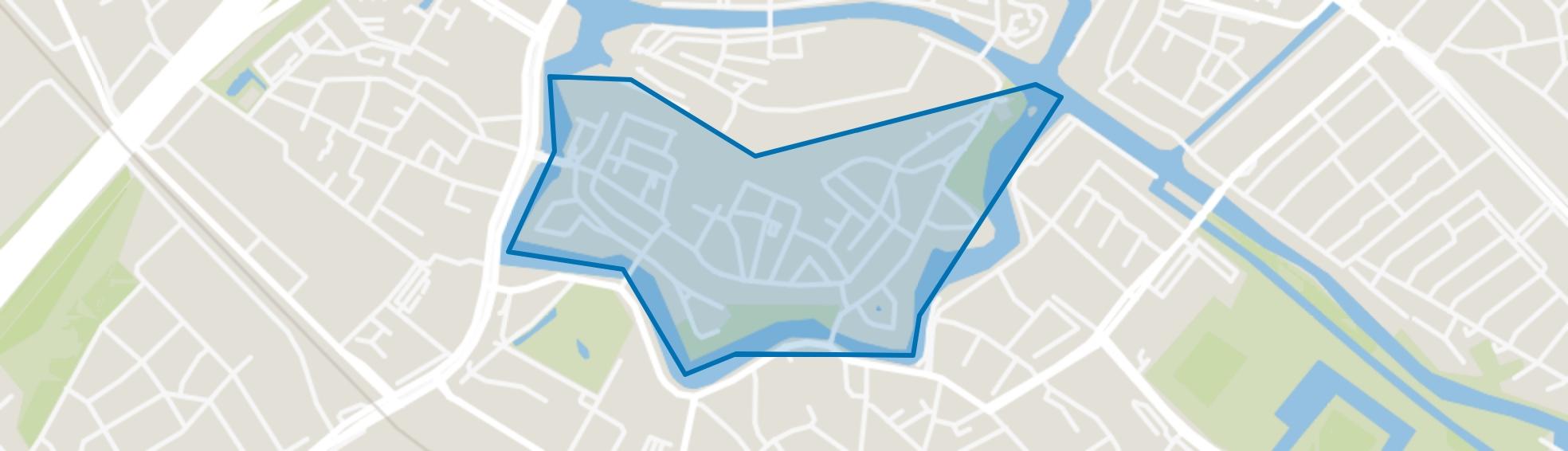 Binnenstad-Zuid, Zwolle map