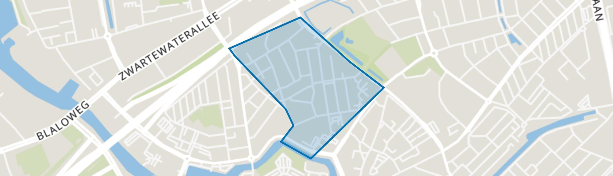Bollebieste, Zwolle map