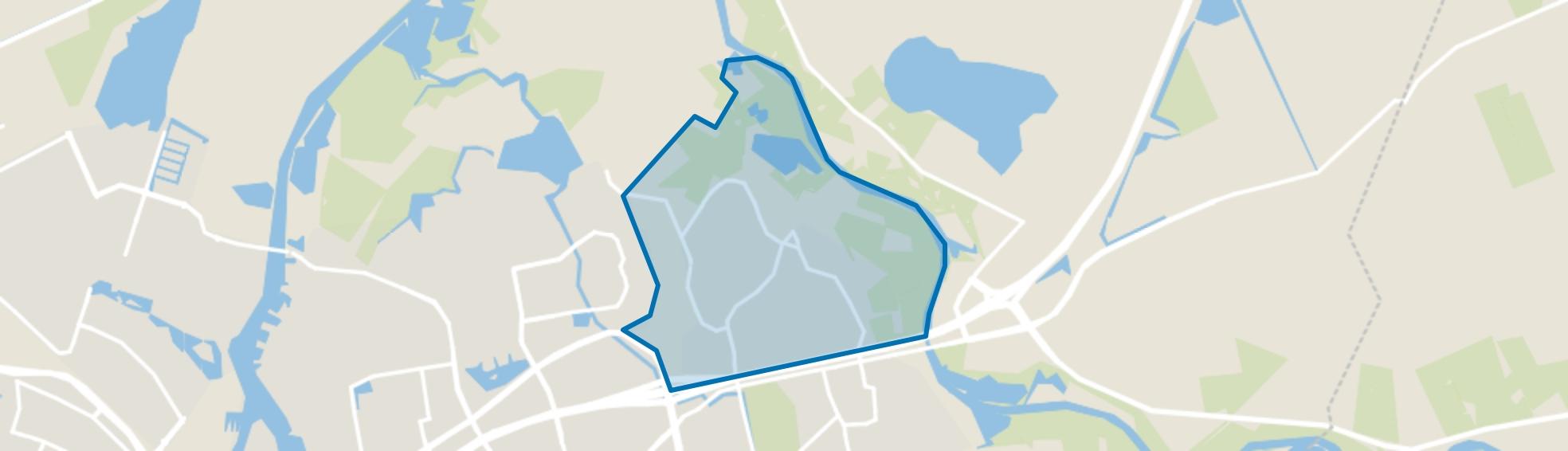 Brinkhoek, Zwolle map