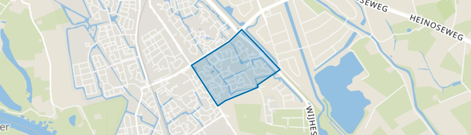 Gerenbroek, Zwolle map