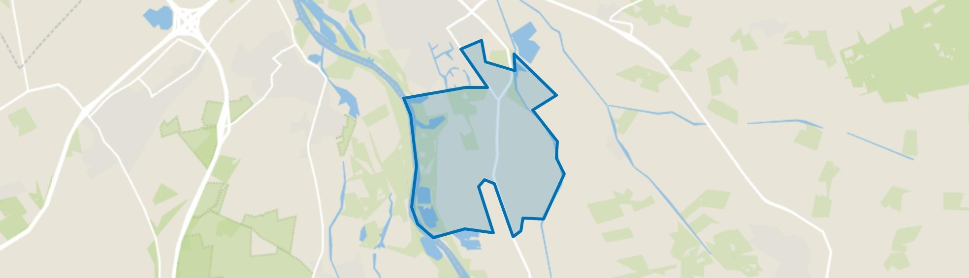 Harculo en Hoog-Zuthem, Zwolle map