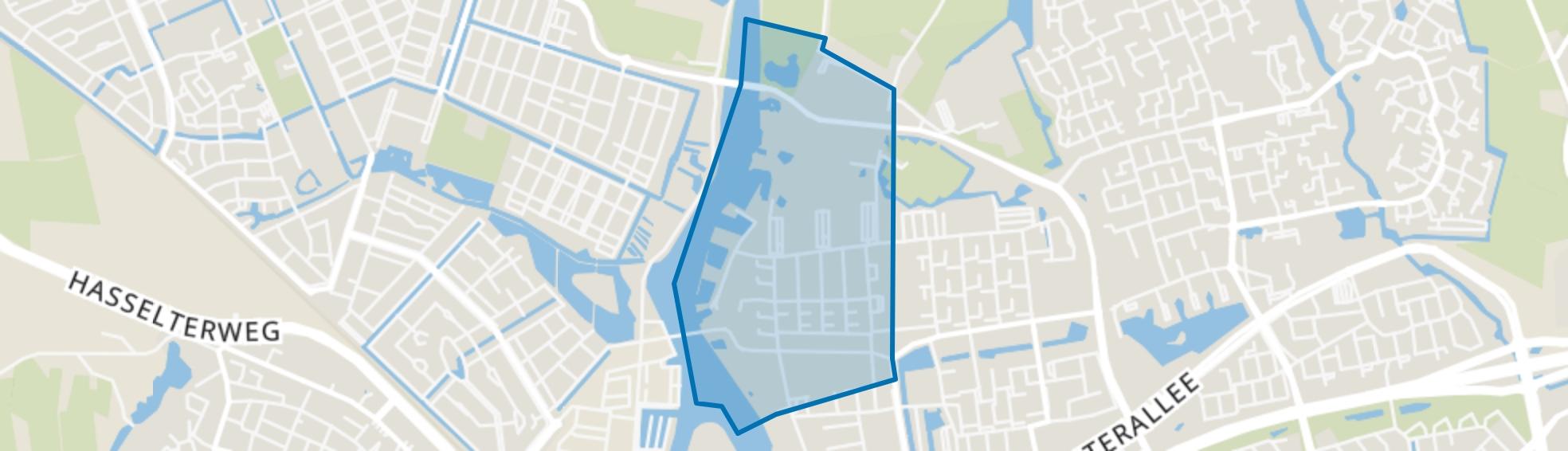 Holtenbroek II, Zwolle map