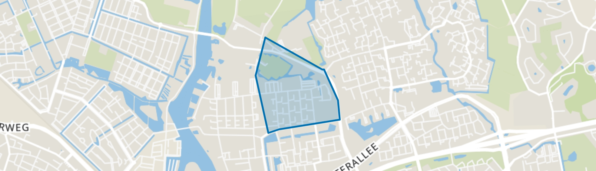 Holtenbroek III, Zwolle map