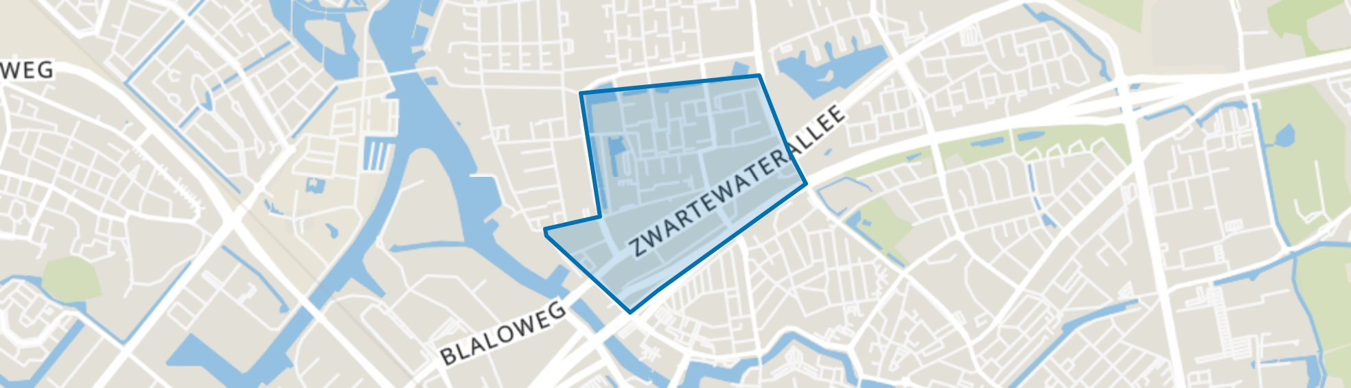 Holtenbroek IV, Zwolle map