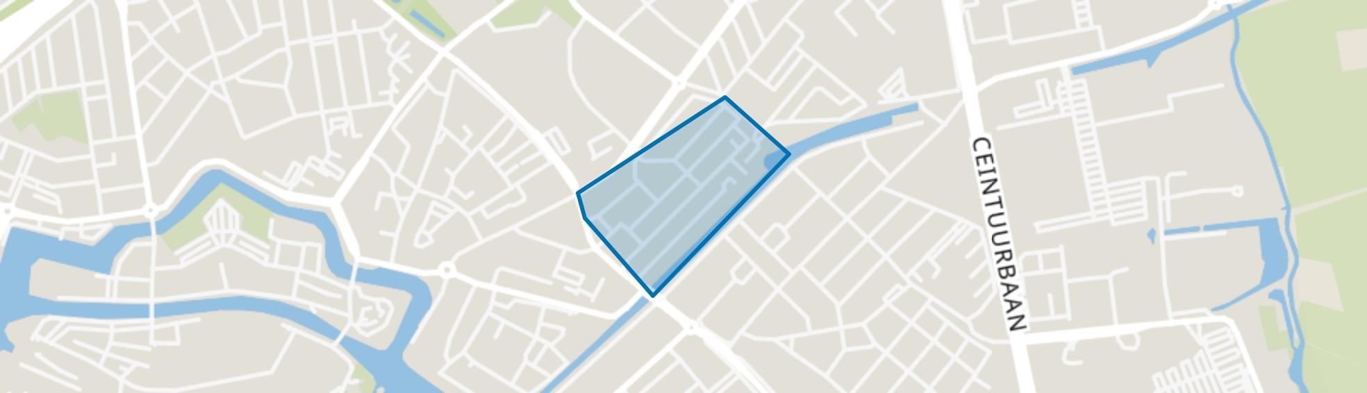 Indischebuurt, Zwolle map