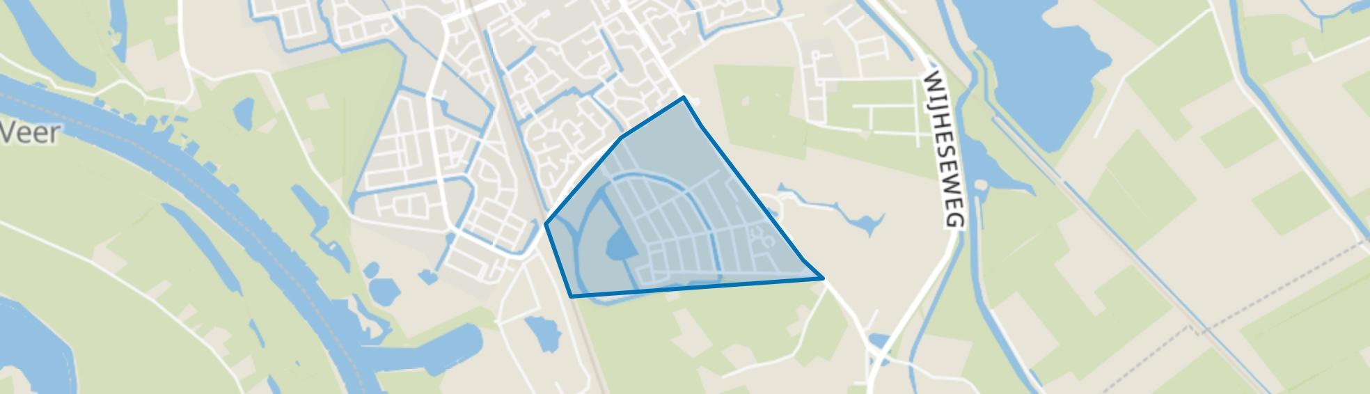 Ittersumerbroek, Zwolle map