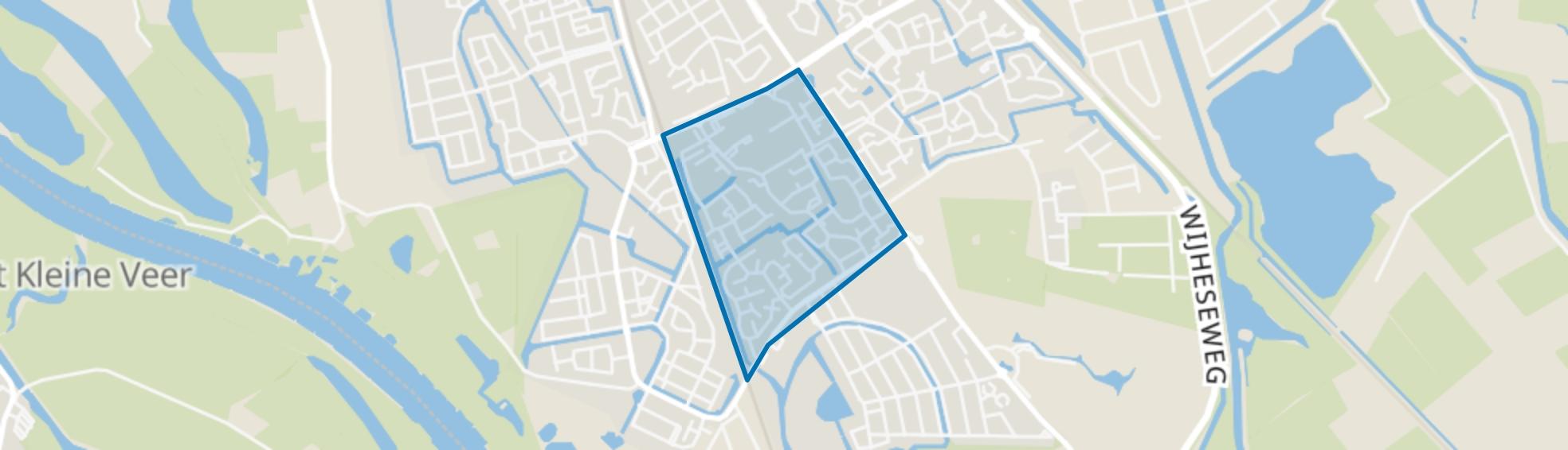 Ittersumerlanden, Zwolle map
