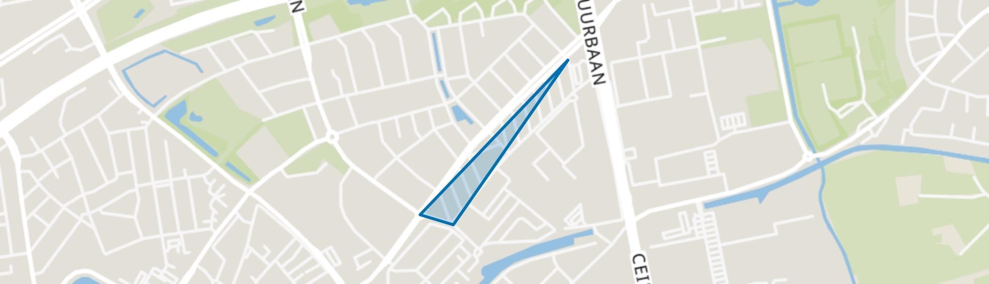 Meppelerstraatweg-Zuid, Zwolle map