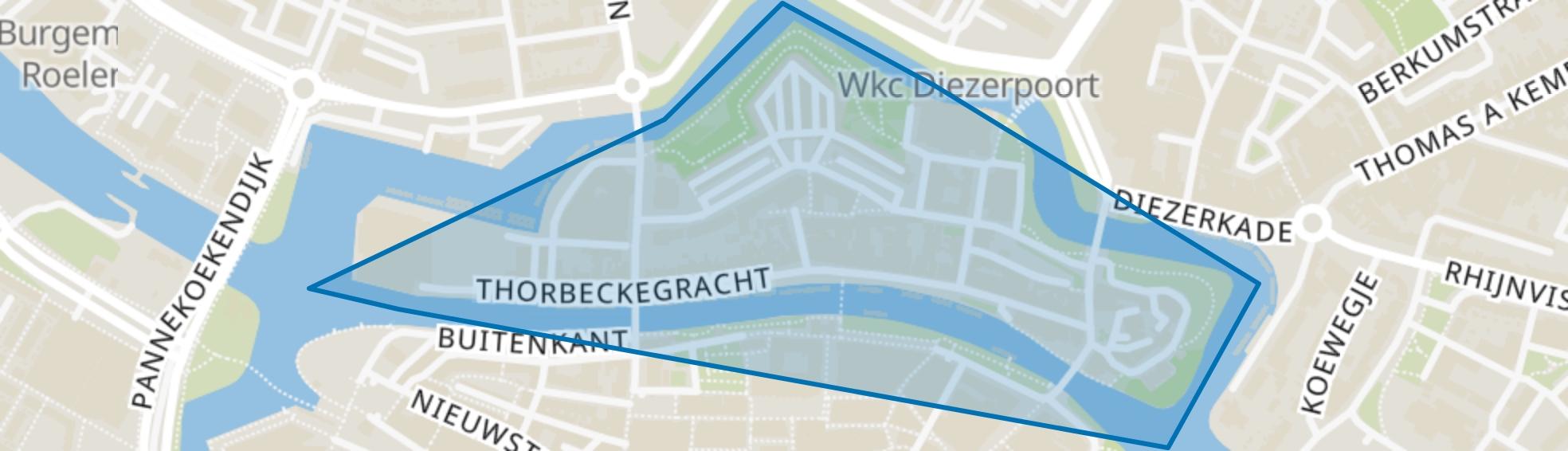 Noordereiland, Zwolle map