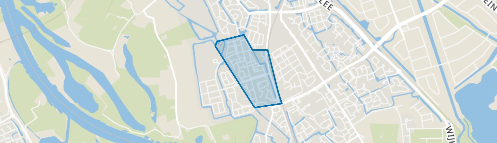 Oldenelerlanden-Oost, Zwolle map