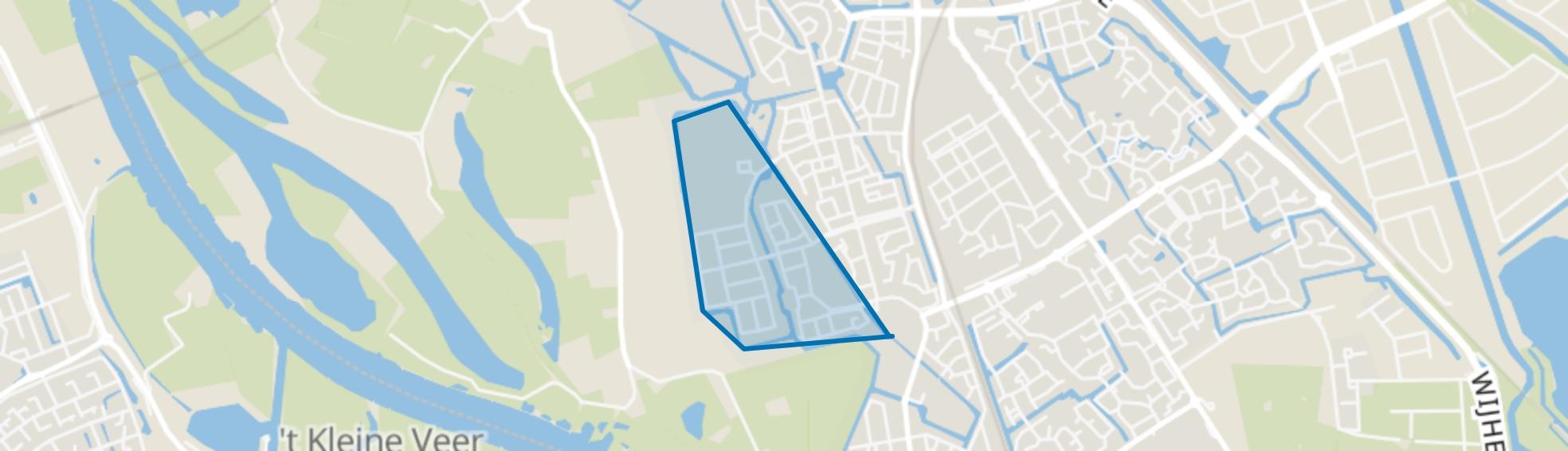 Oldenelerlanden-West, Zwolle map