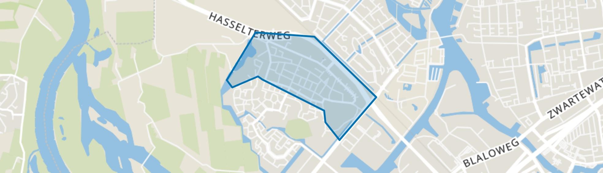 Oud-Westenholte, Zwolle map