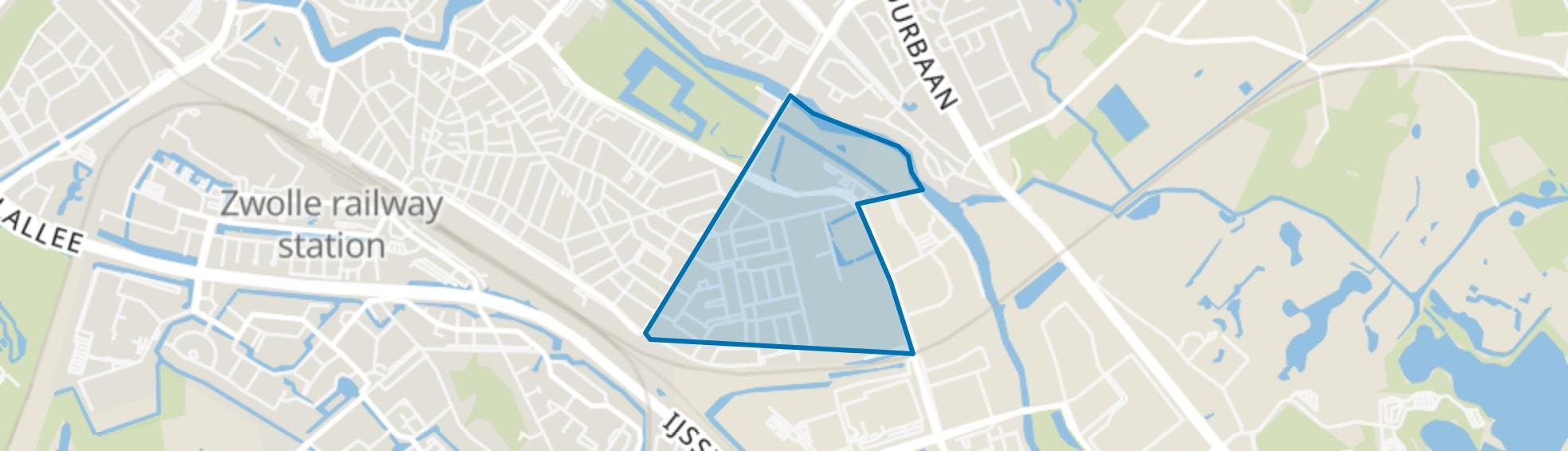 Pierik, Zwolle map
