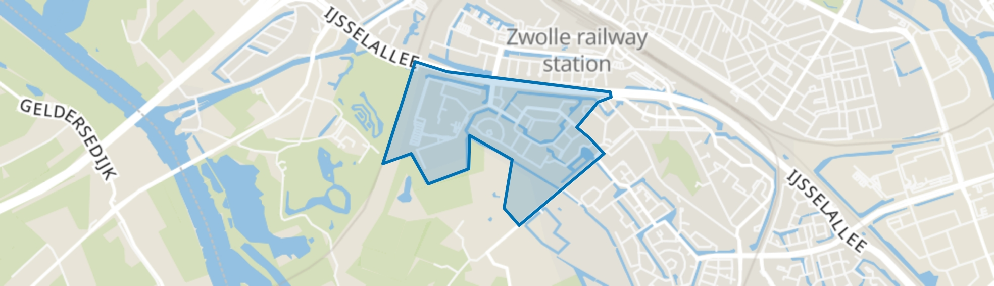 Schellerbroek, Zwolle map