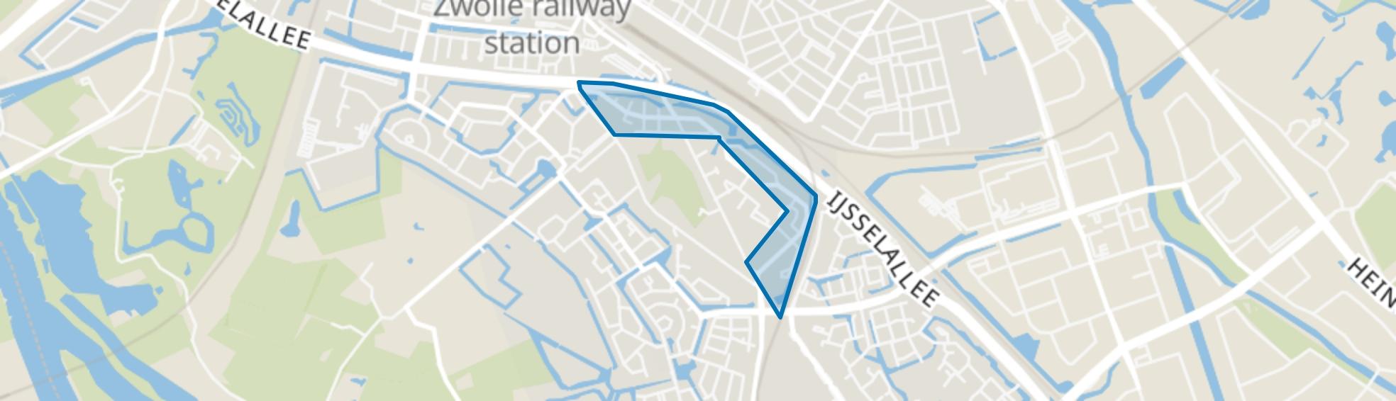 Schellerhoek, Zwolle map