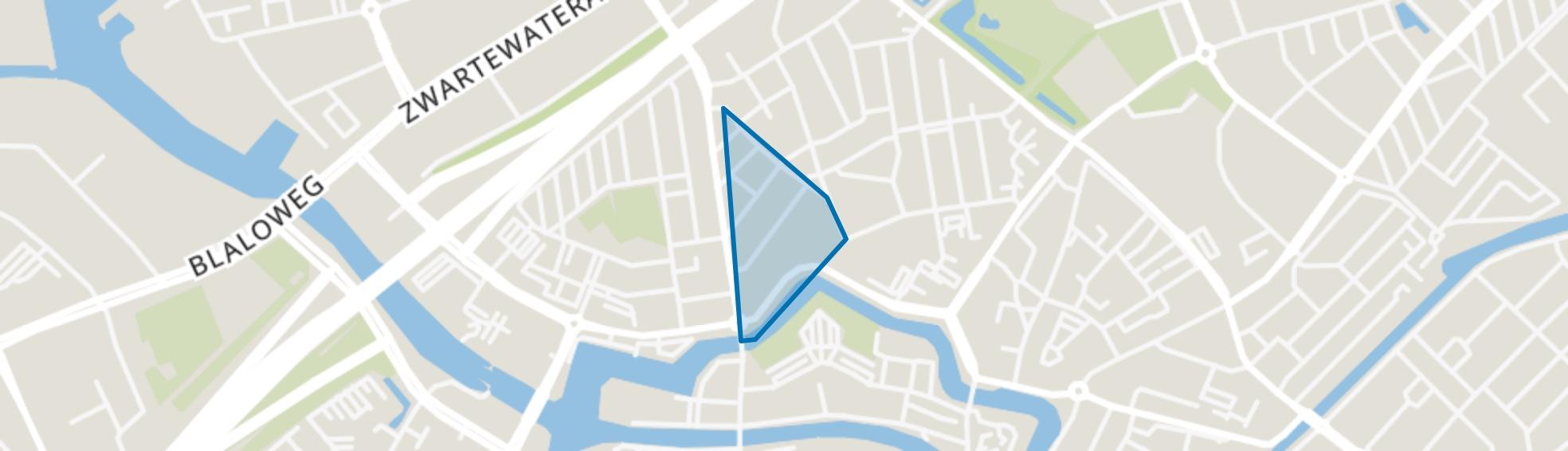 Schildersbuurt, Zwolle map