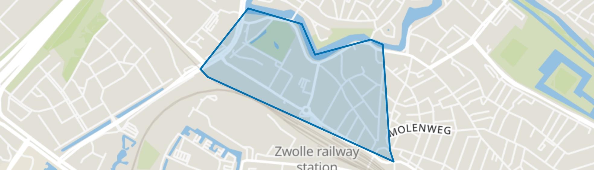 Stationsbuurt, Zwolle map